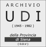 LOGO Associazione Archivio dell'UDI della provincia di Siena